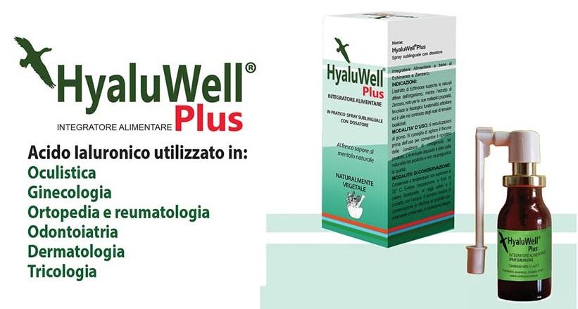 San Luigi Gonzaga: HyaluWell, Acido Ialuronico a 200.000 Da