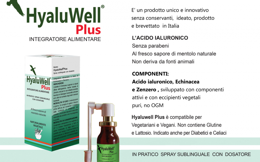 HyaluWell – A different Hyaluronic Acid Hyaluwell invitato a ENTENTE Life Sciences Investment Forum 8/12 Ottobre 2014 Bruxelles