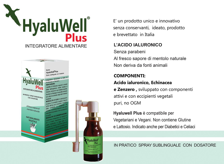 HyaluWell Plus Acido Ialuronico